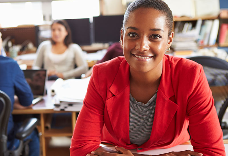African Female Businesswoman BusinessFit